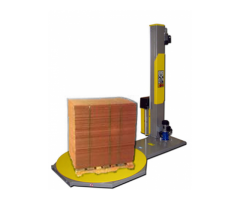 WorkHorse Semi Automatic Pallet Wrapper Next Gen.(with Prestretch Carriage) - Demo Unit