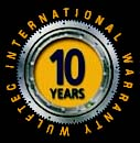 Ring Gear 10 Years Warranty