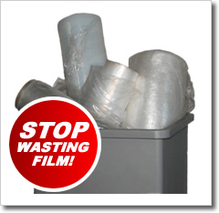 Stop wasting stretch film