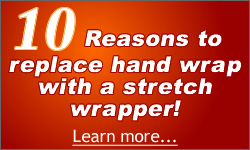 Ten reasons for using a stretch wrapper