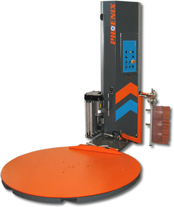 Phoenix PRRA-2100 Automatic Rotary Ring Pallet Wrapper