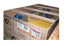Workhorse pallet wrapper shipping crate