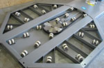 Workhorse an efficient and inexpensive pallet stretch for Motorized turntable heavy duty